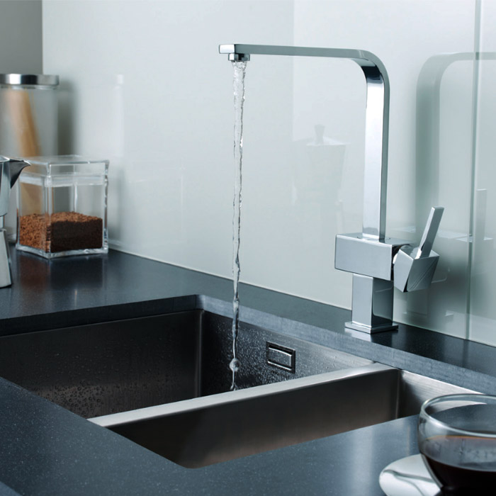 Ultra Square Side Action Kitchen Tap - KC312 profile large image view 2