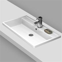 Premier Tribute Square Inset Basin - 600 x 450mm Medium Image