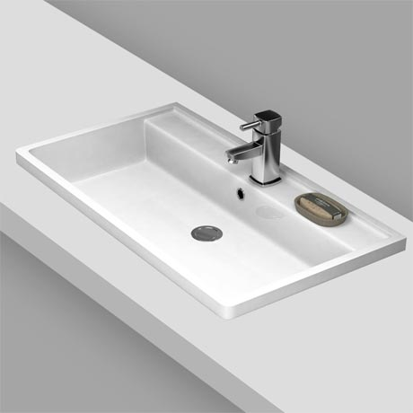 Premier Tribute Square Inset Basin - 600 x 450mm