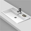 Premier Tribute Square Inset Basin - 600 x 450mm Small Image