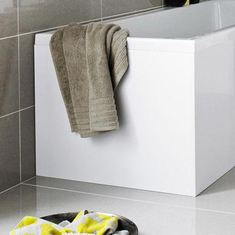 Premier W700 x H510mm Acrylic End Panel for L Shaped Bath