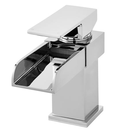 Ultra Waterfall Mono Basin Mixer Inc. Waste - TWF305