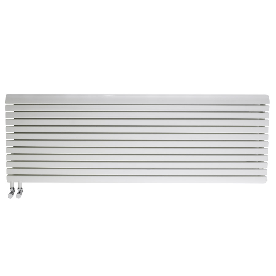 Premier - White Flat Panel Designer Radiator H570 x W1600mm - MTY098 Large Image