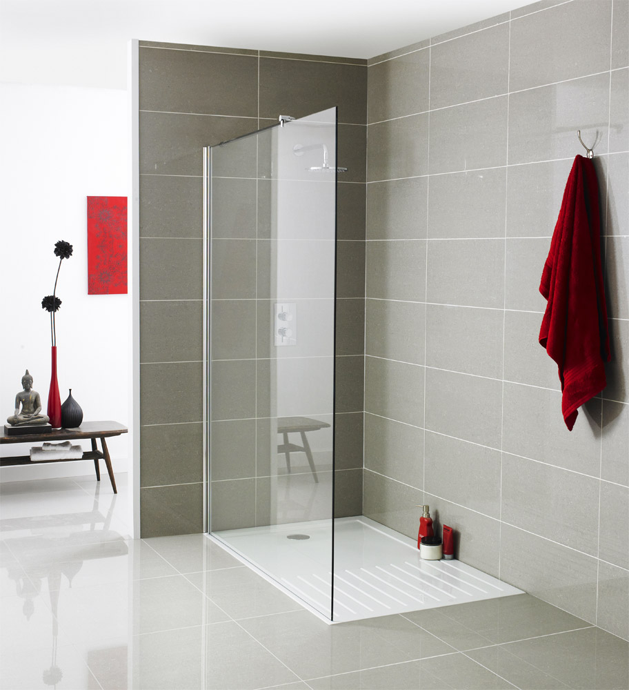 Premier Wetroom Screen - Various Sizes Large Image