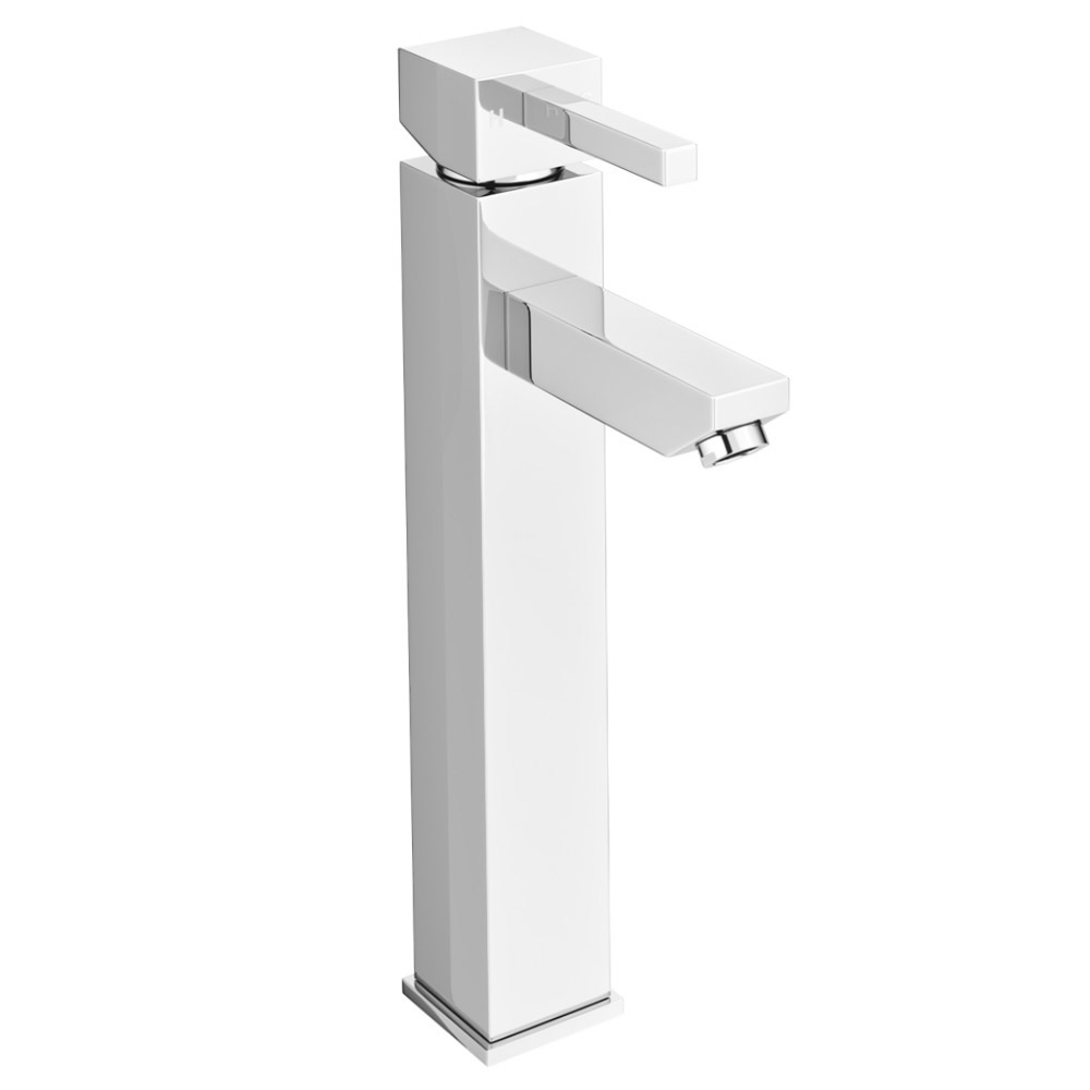 Prime High Rise Basin Mixer with Savona Counter Top Basin profile large image view 2