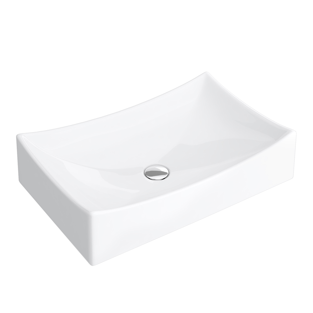 Prime High Rise Basin Mixer with Savona Counter Top Basin profile large image view 4