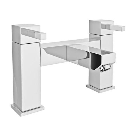 Prime Modern Bath Filler - Chrome