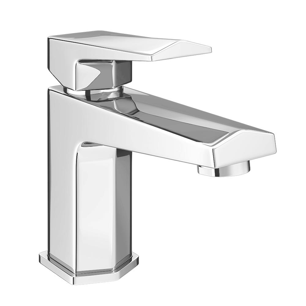 Prism Modern Basin Mixer Tap + Waste profile large image view 1