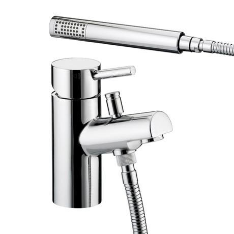 Bristan - Prism Contemporary 1 Hole Bath Shower Mixer - Chrome - PM-1HBSM-C