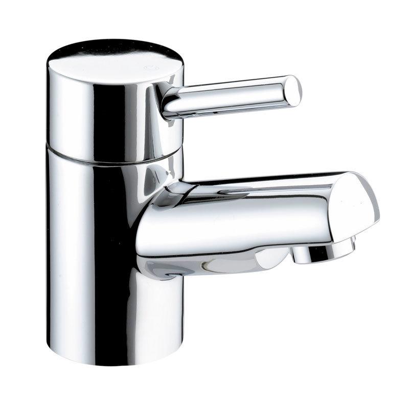 Bristan - Prism Contemporary 1 Hole Bath Filler - Chrome - PM-1HBF-C Large Image