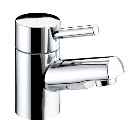 Bristan - Prism Contemporary 1 Hole Bath Filler - Chrome - PM-1HBF-C