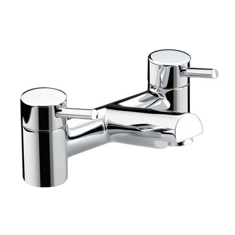 Bristan - Prism Contemporary Bath Filler - Chrome - PM-BF-C