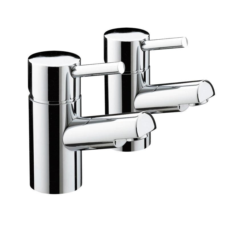 Bristan - Prism Contemporary Bath Taps - Chrome - PM-3/4-C Large Image
