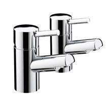 Bristan - Prism Contemporary Bath Taps - Chrome - PM-3/4-C Medium Image