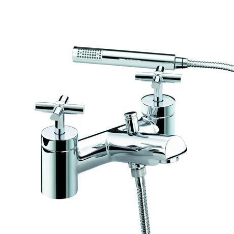 Bristan Quadrant Bath Shower Mixer Chrome Qt Bsm C At