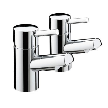 Bristan - Prism Contemporary Bath Taps - Chrome - PM-3/4-C