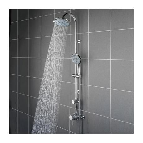 Bristan - Prism Exposed Fixed Head Shower with Diverter & Kit