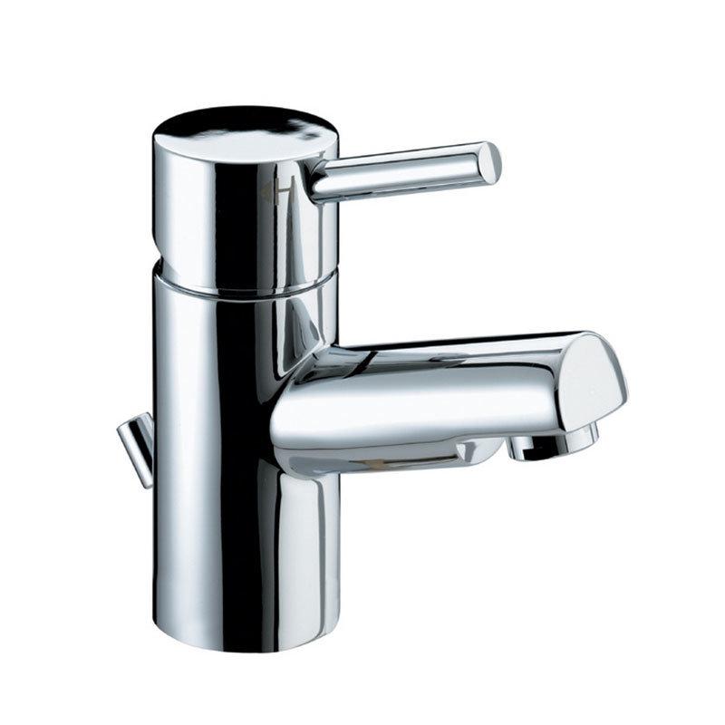 Bristan Prism Contemporary Basin Mixer Tap inc Eco-Click & Pop-up Waste - Chrome - PM-EBAS-C Large I