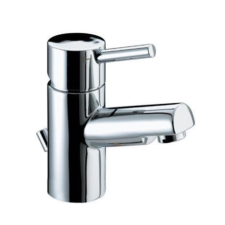 Bristan Prism Contemporary Basin Mixer Tap inc Eco-Click & Pop-up Waste - Chrome - PM-EBAS-C
