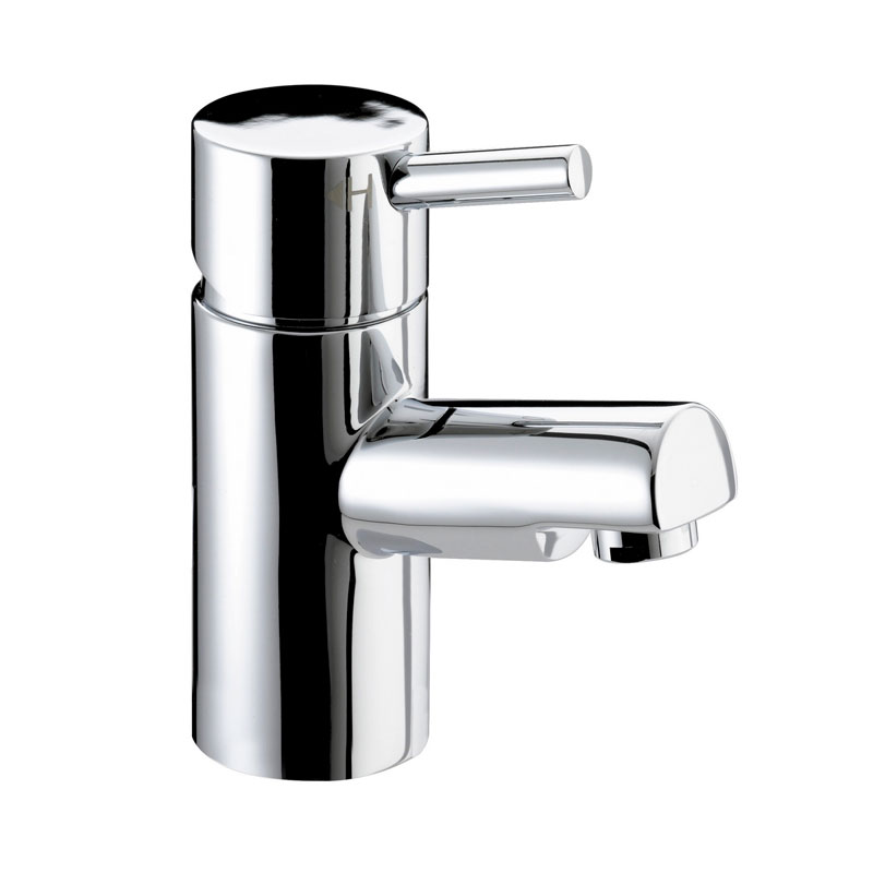 Bristan - Prism Contemporary Basin Mixer (no waste) - Chrome - PM-BASNW-C Large Image