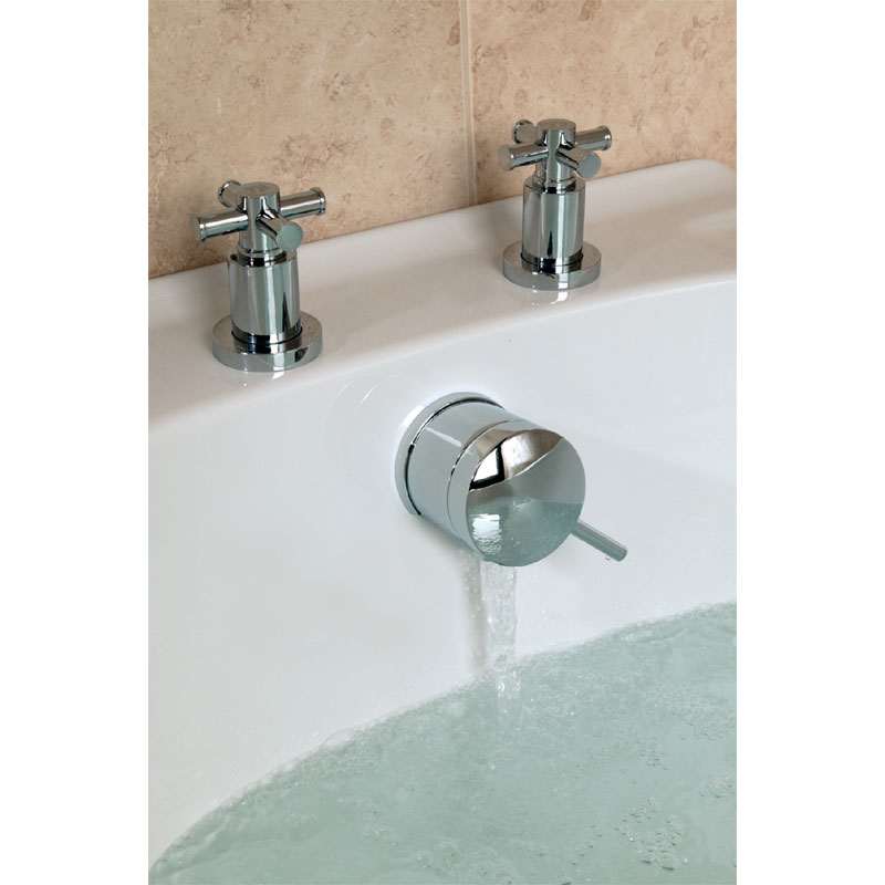 Bristan Prism Combined Bath Filler Amp Overflow Chrome