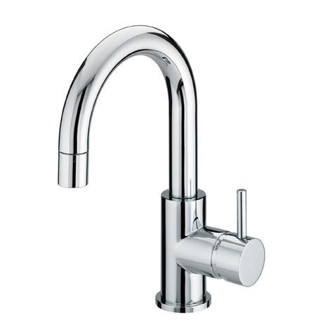 Bristan - Prism Contemporary Side Action Basin Mixer w/ Pop-up Waste - Chrome - PM-SABAS-C