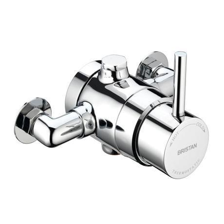 Bristan - Prism Exposed Single Control Shower Valve - PM-SQSHXVO-C