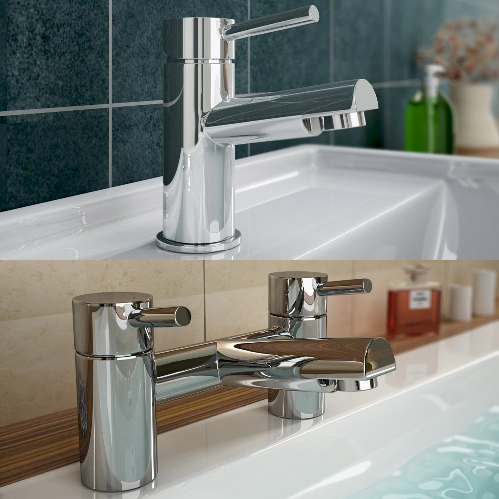 Pro 600 B-Shaped 1700 Complete Bathroom Package profile large image view 4