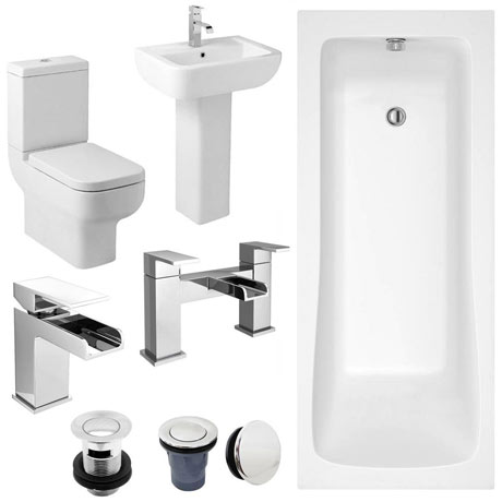 Pro 600 Complete Bathroom Suite Package