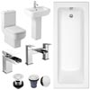 Pro 600 Complete Bathroom Suite Package profile small image view 1