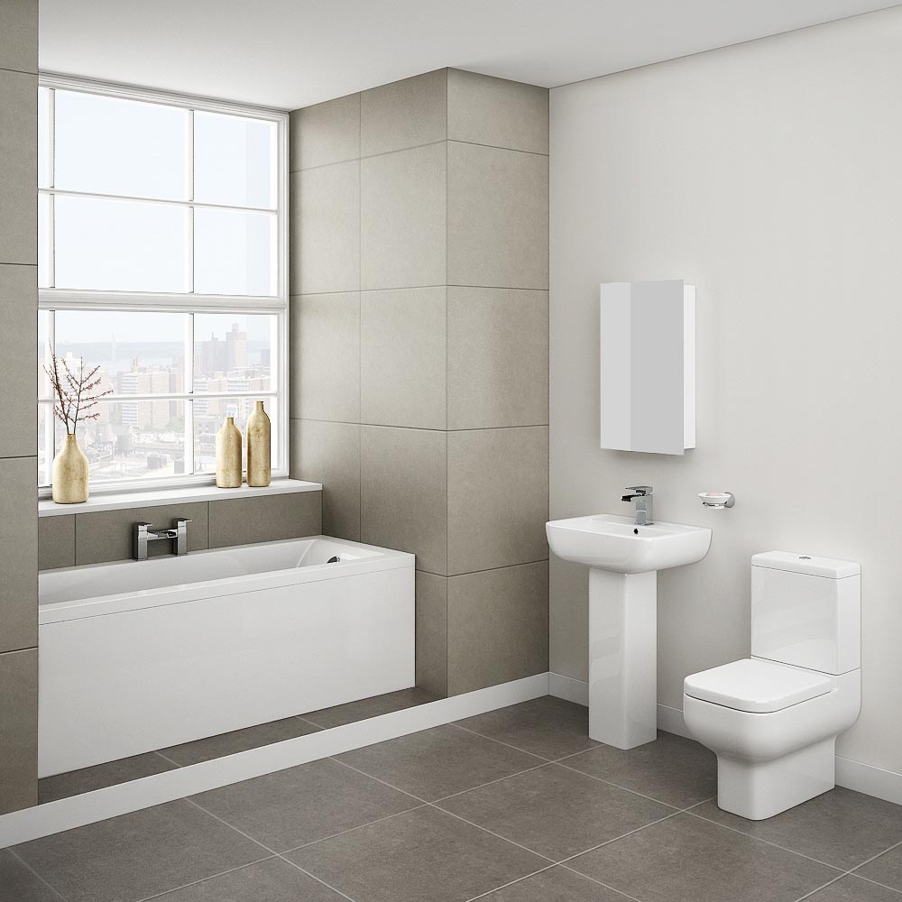 Pro 600 Complete Bathroom Suite Package profile large image view 4