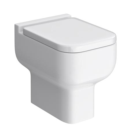Pro 600 Modern Back To Wall Toilet with Soft Close Seat