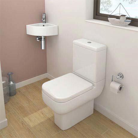 Pro 600 Modern Cloakroom Suite