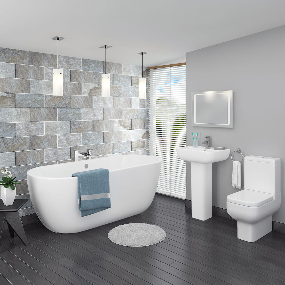 The Ultimate Guide To Grey Bathrooms | Victorian Plumbing