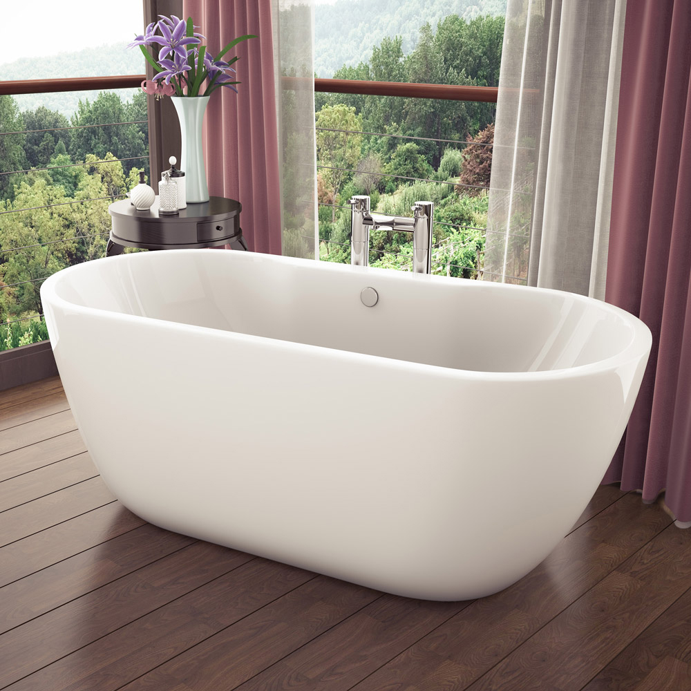 Pro 600 Modern Free Standing Bath Suite Standard Large Image