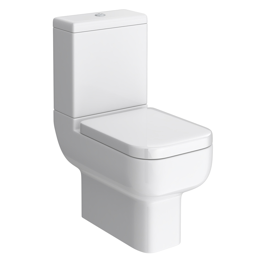 Pro 600 Modern Short Projection Toilet Seat