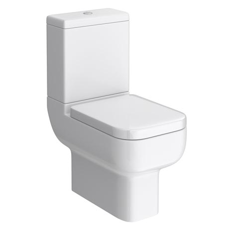 Pro 600 Modern Short Projection Toilet with Soft Close Seat