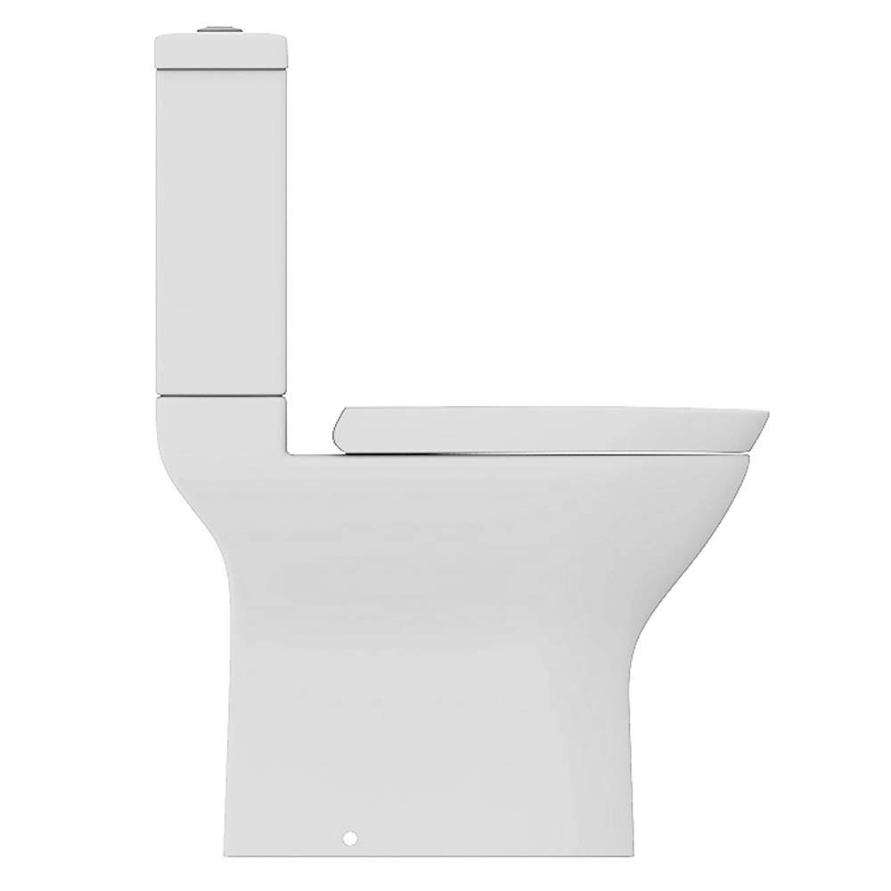 Project Round Modern Short Projection Toilet + Soft Close Seat  Profile Large Image