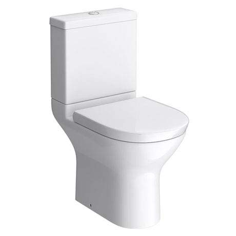 Project Round Modern Short Projection Toilet + Soft Close Seat