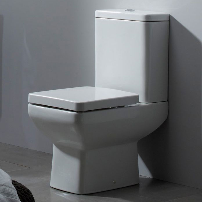 Tavistock Q60 Short Projection WC & Soft Close Seat profile large image view 2