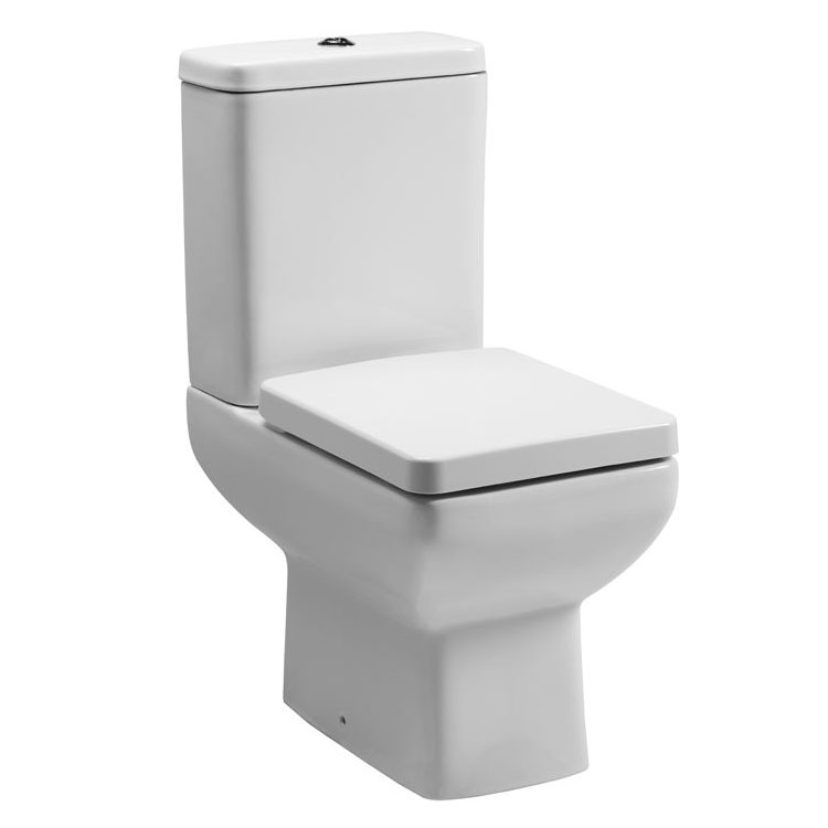 Tavistock Q60 Short Projection WC & Soft Close Seat Large Image