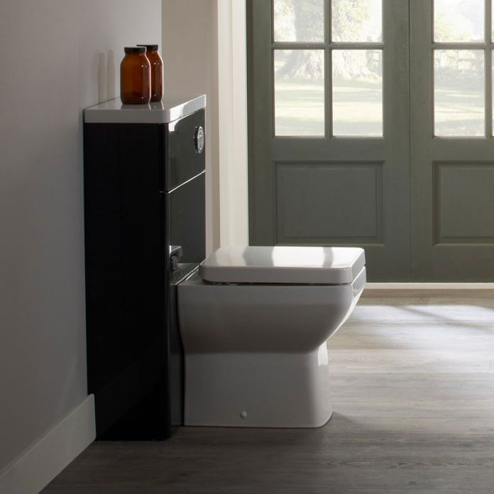 Tavistock Q60 Back to Wall Pan & Soft Close Seat Feature Large Image
