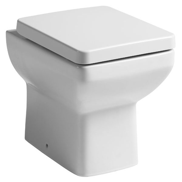 Tavistock Q60 Back to Wall Pan & Soft Close Seat Large Image