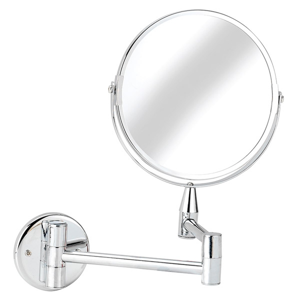 Croydex Small Round Magnifying Mirror - QA103041 Large Image