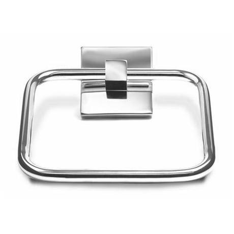 Croydex - Brompton Towel Ring - Chrome - QM571541