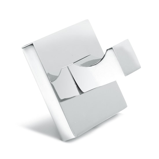 Croydex - Brompton Flexi-Fix Robe Hook - Chrome - QM571741 Large Image