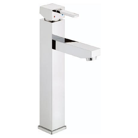 Bristan - Quadrato Tall Basin Mixer (no waste) - Chrome - QD-TBAS-C