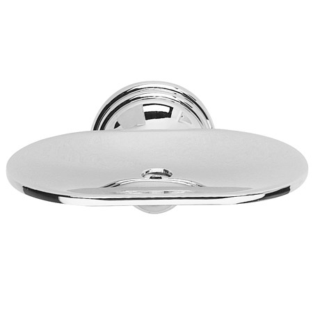 Croydex - Westminster Soap Dish - Chrome - QM201941 profile large image view 1