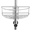 Croydex Easy Fit Shower Riser Rail Basket - QM261041 profile small image view 1