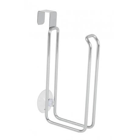 Croydex Hook Over Tank Toilet Roll Holder - QM265341